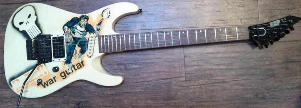 """ESP """"Punisher: War Guitar"""" - Exclusive Model!.... ;)"""