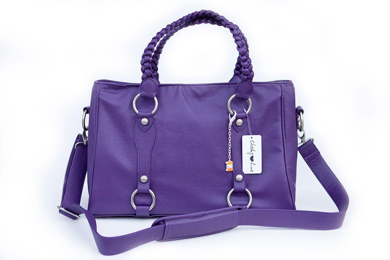 Cheeky Lime - Livy Camera Bag   Purple