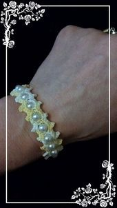 Photo of Free pattern for crocheted bracelet and necklace Free pattern …