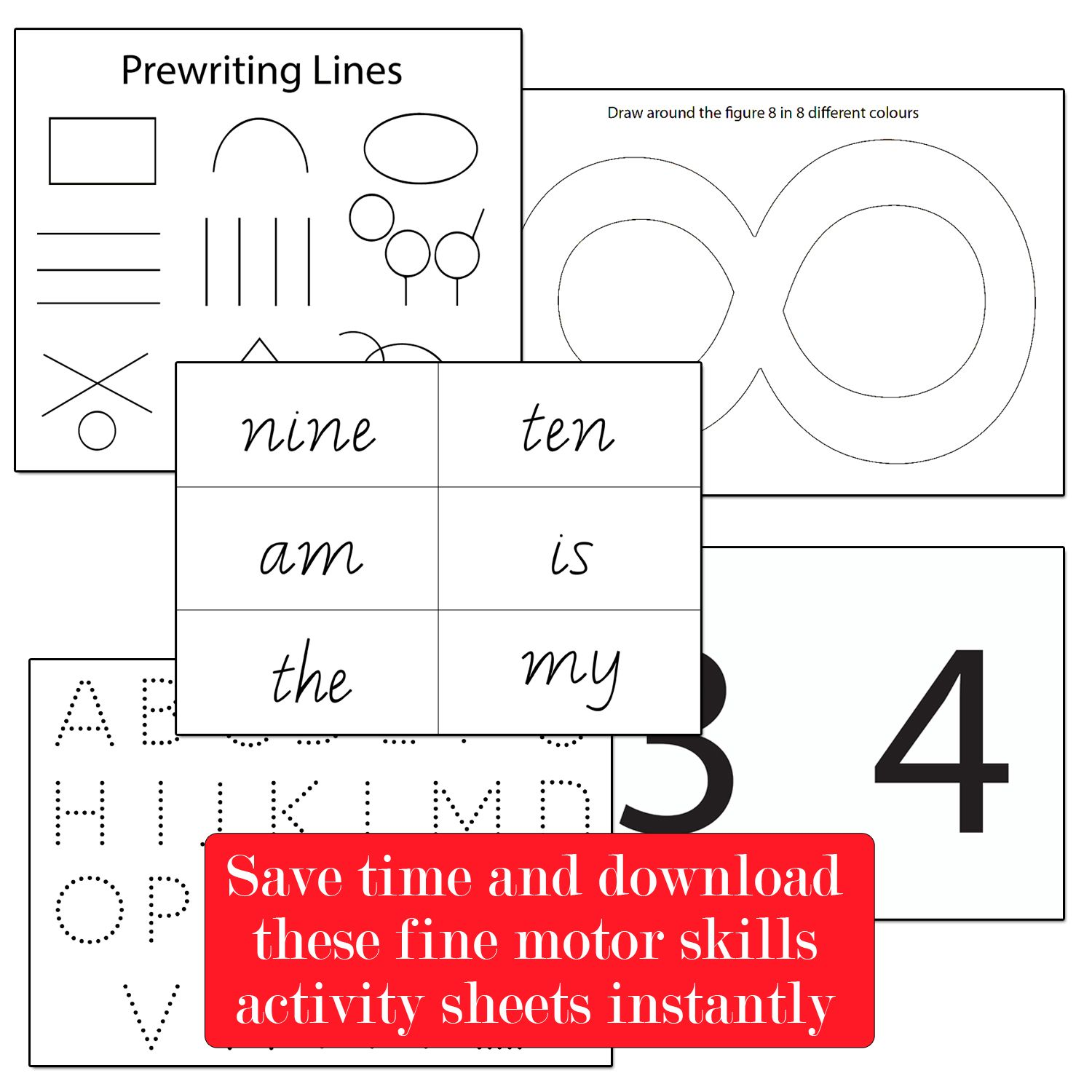 Download And Print Our Fine Motor Skills Handwriting