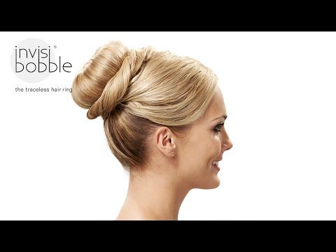 Grand Dame Easy Invisibobble Hair Tutorial By Denise Bredtmann - Big bun hairstyle youtube