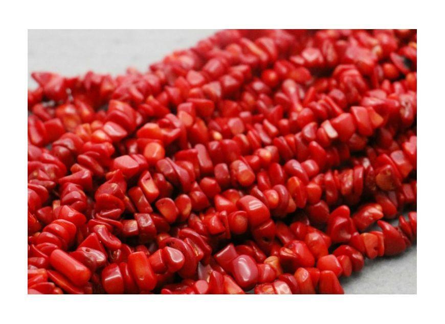 Korale Czerwone Szlachetne Kamienie Red Peppercorn Red Peppercorn