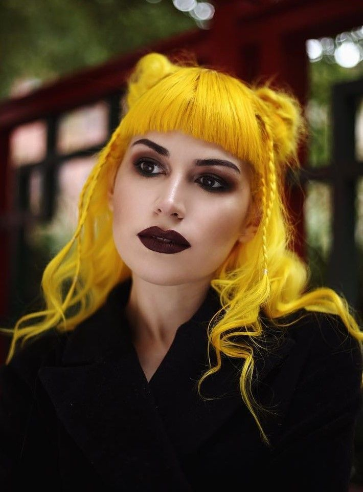 Check Out These 30 Edgy Hair Color Ideas Their Makeup Looks Get