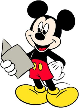 mickey-mouse-reading.jpg (326×444)
