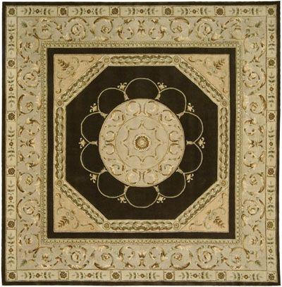 Versailles Pallacevp12 Brn Square2 3 X 8 595673 6 X 5 6 595765 3 X 8 3 595856 Diameter 596307 6 X 9 6 Brown Rug Rugs On Carpet Handmade Rugs