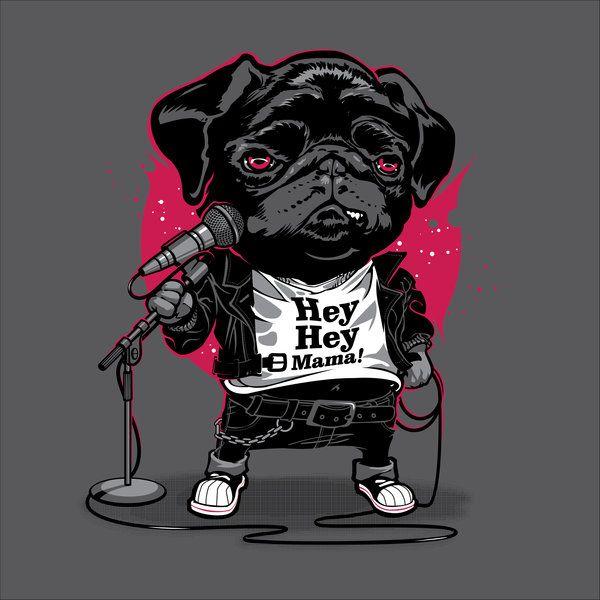 Black Dog Black Dog Animal Illustration Character Design