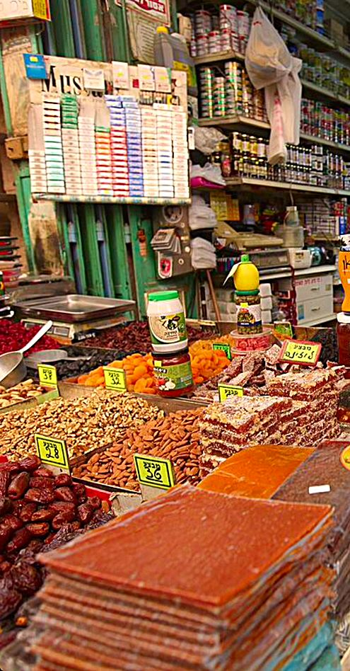 Dried Fruits Nuts And Then Some Ben Yehuda Market Jerusalem Popular With Locals And Tourists Alike The Mark World S Best Food Wine And Liquor Israeli Food