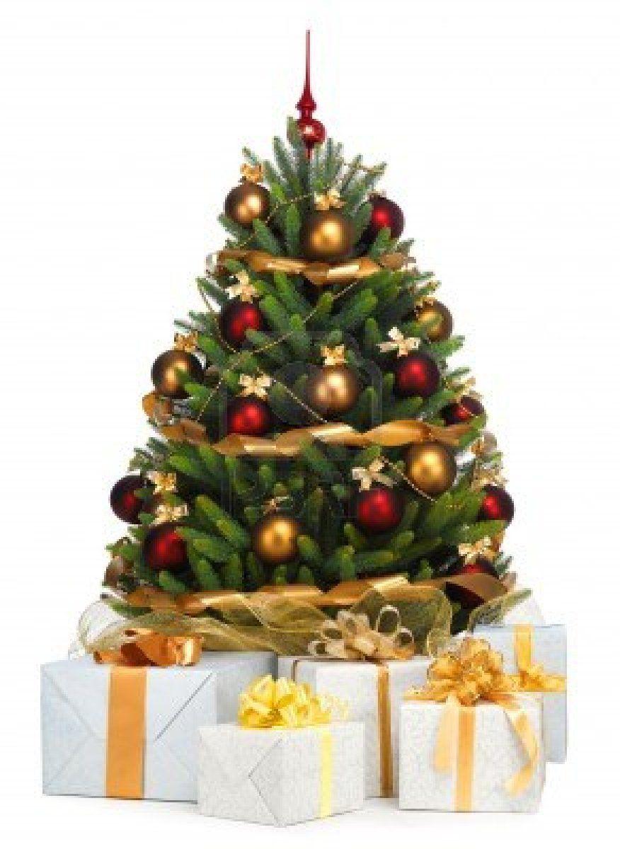 Arbol de navidad decorado dibujo de arbol de navidad arbol - Arbol de navidad decorado ...