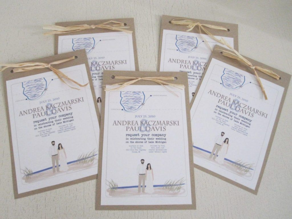 25 Simple Wedding Invitations Diy Cafecanon Info Desain Grafis Desain