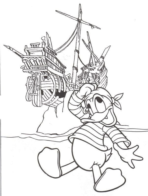 disney pirates coloring pages - photo#21