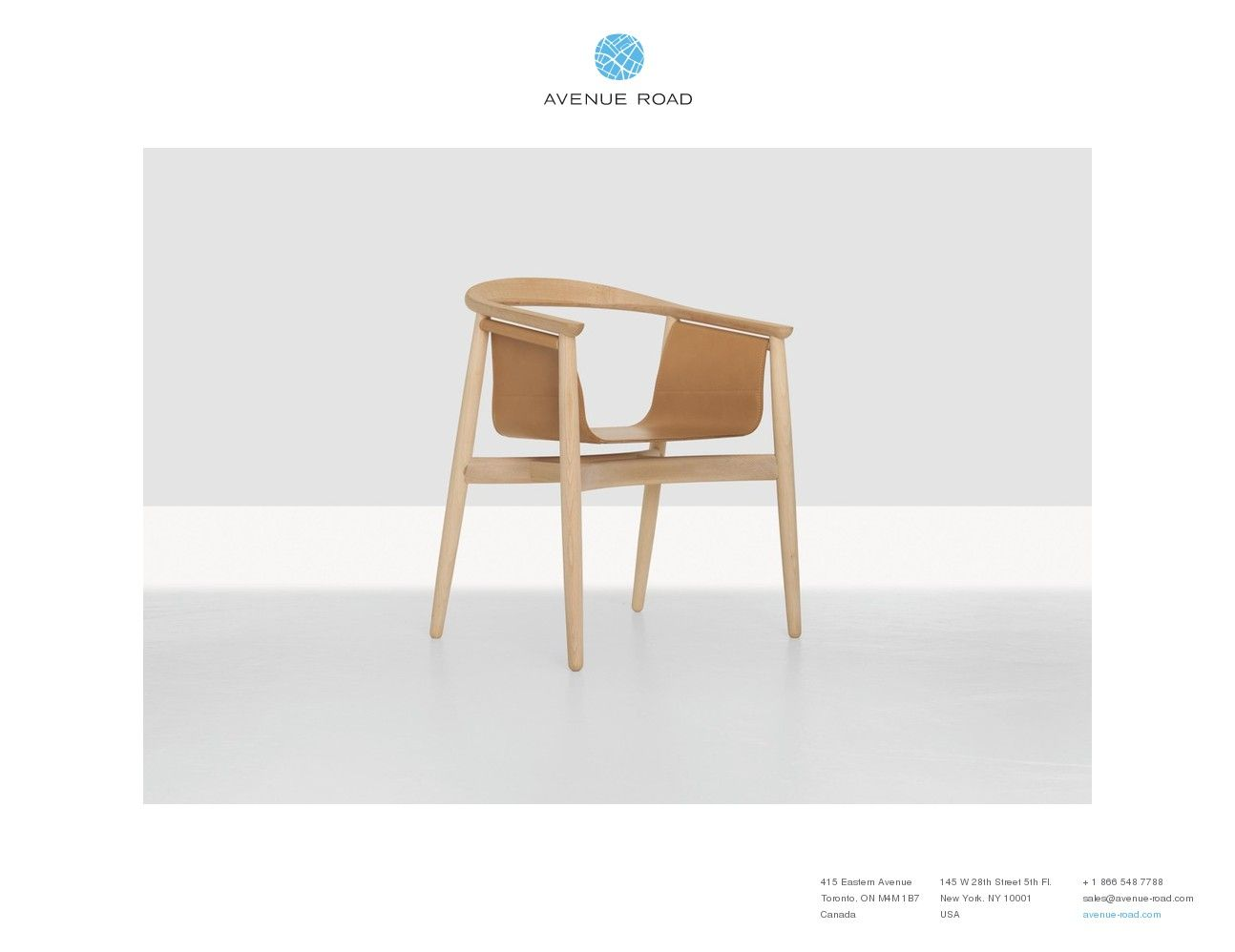 Pelle chair http avenue road com catalogue