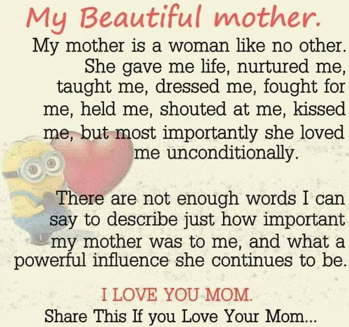 I Love And Miss U So Much Mom Beautiful Mother Quotes Happy Mother Day Quotes Mother Quotes