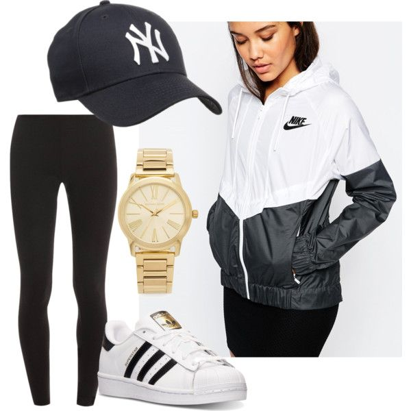 8d0ae47ebf5 A fashion look from March 2016 featuring NIKE