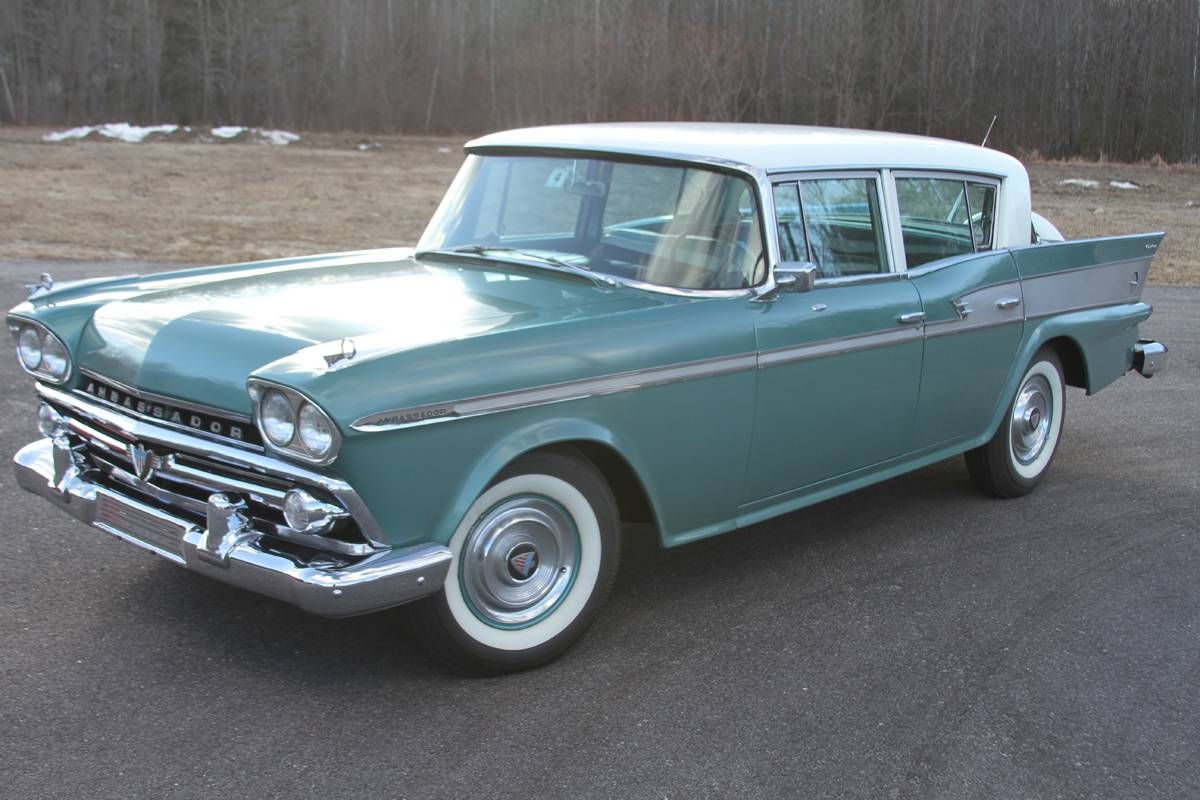 1959 Amc Rambler Ambassador V8 Sedan For Sale 1736361 Rambler