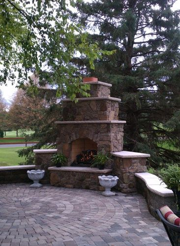 Outdoor Fireplaces Twin City Fireplace And Stone Company Minneapolis Mn Indoor And Outdoor Fireplaces I Build Outdoor Fireplace Patio Outdoor