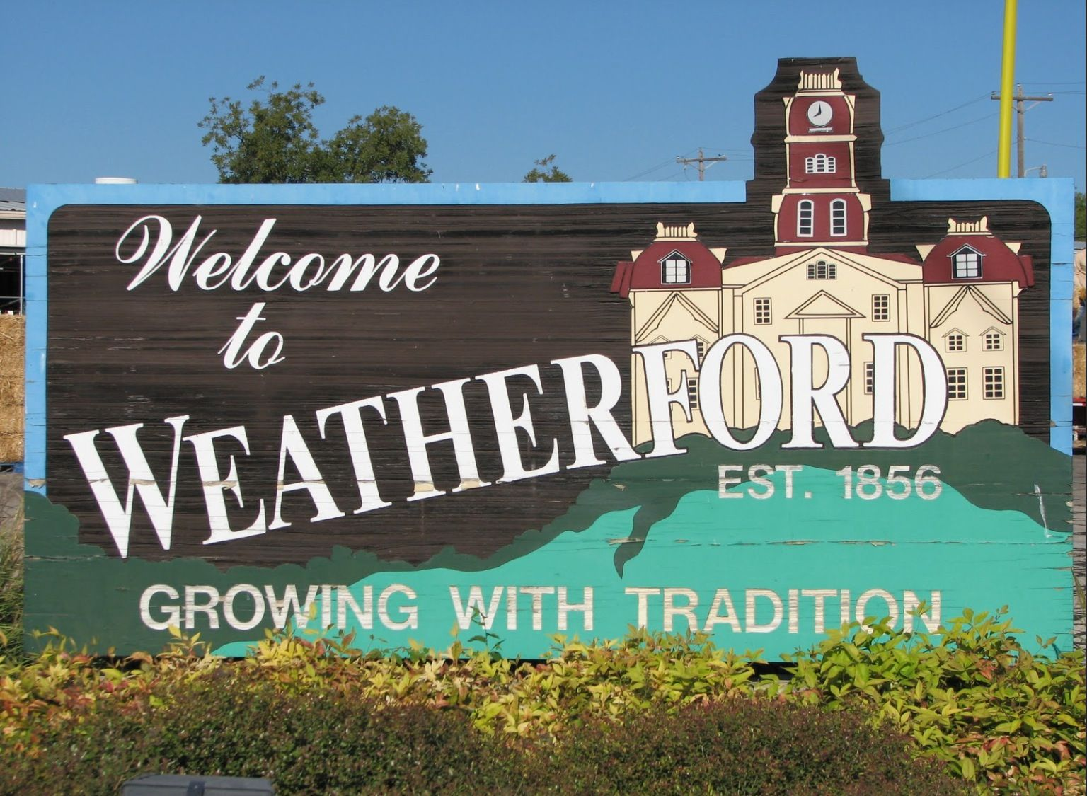 Hometown Pride Small Town Life Hometown Pride Weatherford Texas