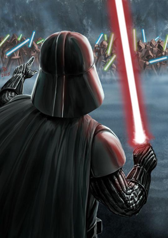 Darth Vader Created by Robert Shane
