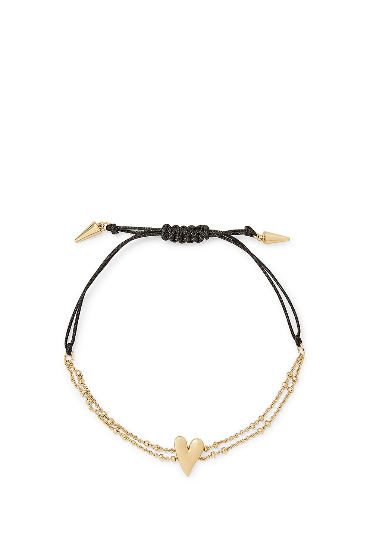 Rebecca Minkoff Stone Pulley Bracelet in Metallic Gold 4nnqyRZO
