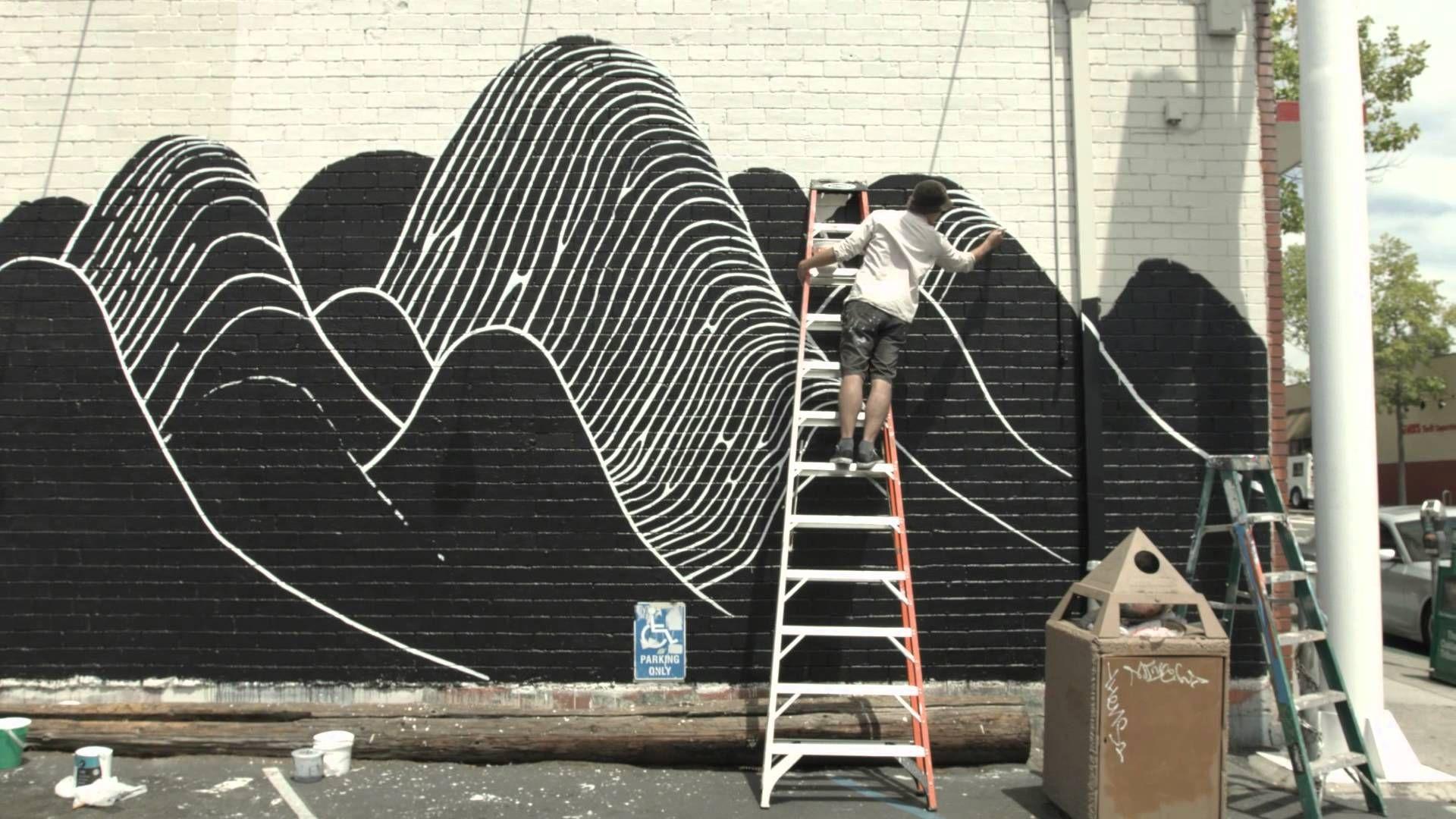 Brendan Monroe in San Francisco - Converse Wall to Wall
