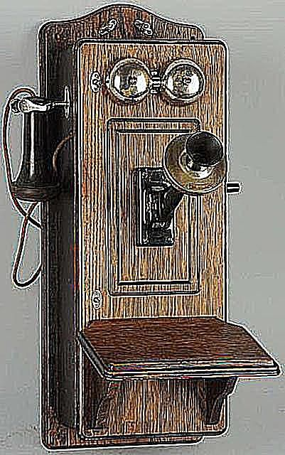 Western Electric Picture Frame Front Model 317 Cathedral Top Wall Telephone, Ca. 1907, Sold for $150 at Morphy Auctions in June, 2012