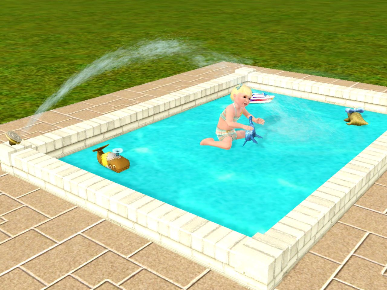 Okay here s my first entry for pools toddlers month mini tutorial building a toddler pool 1 - Define poolside ...