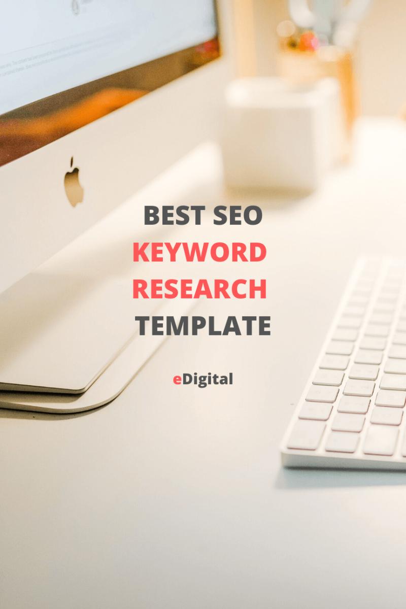 The Best Seo Keyword Research Template Seo Keywords Best Seo Seo