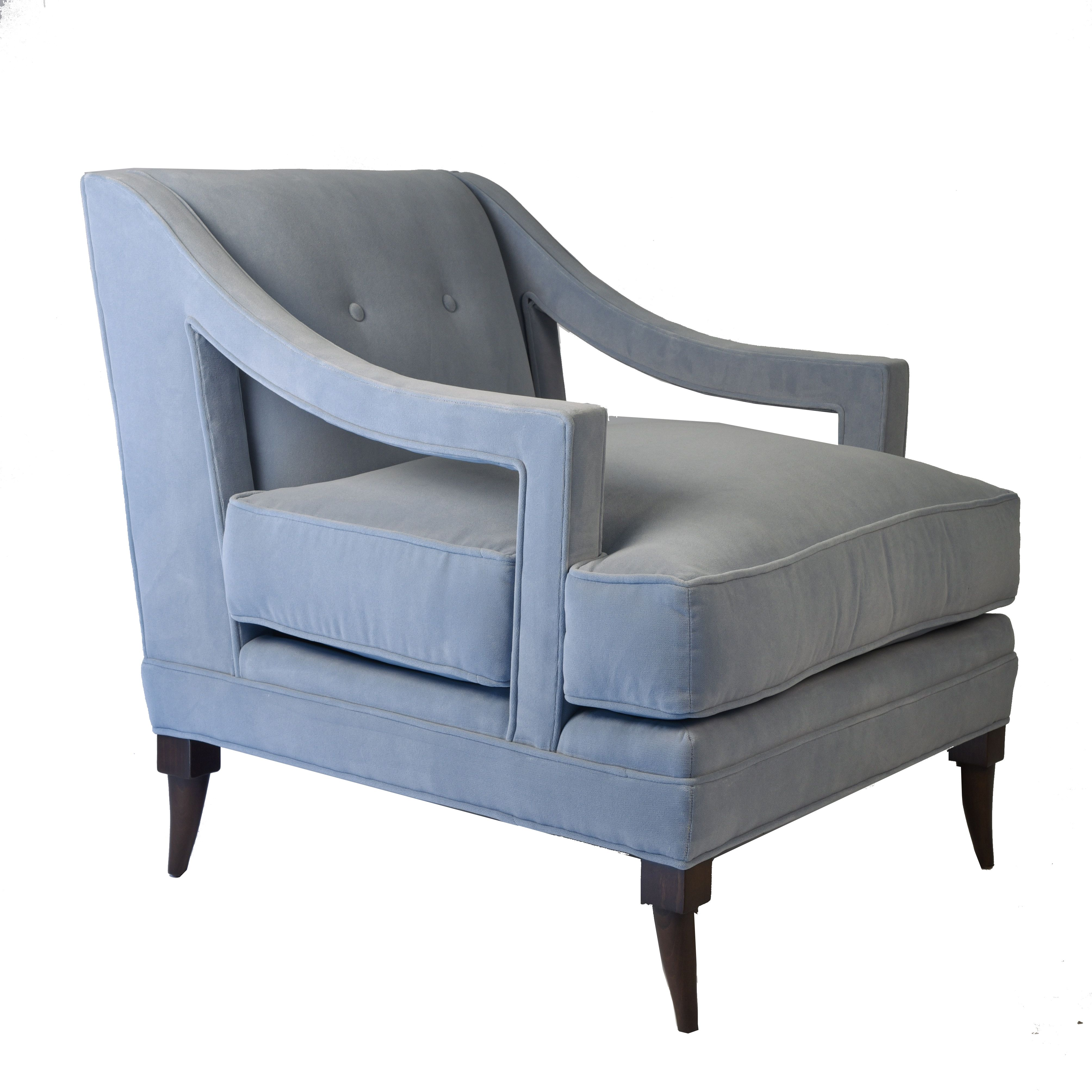 Best Blue Velvet Accent Chair Available At Blue Print 400 x 300