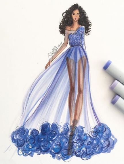 Photo of 23+ Ideas for fashion sketches dresses design beautiful