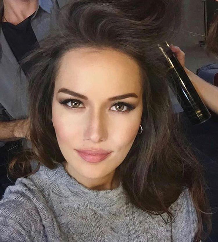 Fahriye Evcen Makeup Fahriyeevcen Evcenf Hair Makeup Brunette
