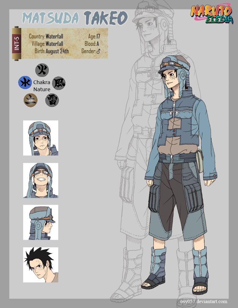Matsuda Takeo by osy057 Naruto oc characters, Naruto