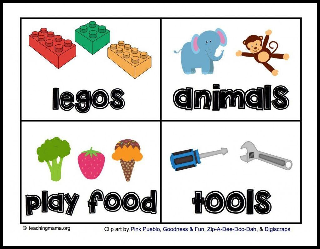 PLANES Toy Organization Label Vinyl Sticker for Toy Organizing Playroom Organizational Sticker