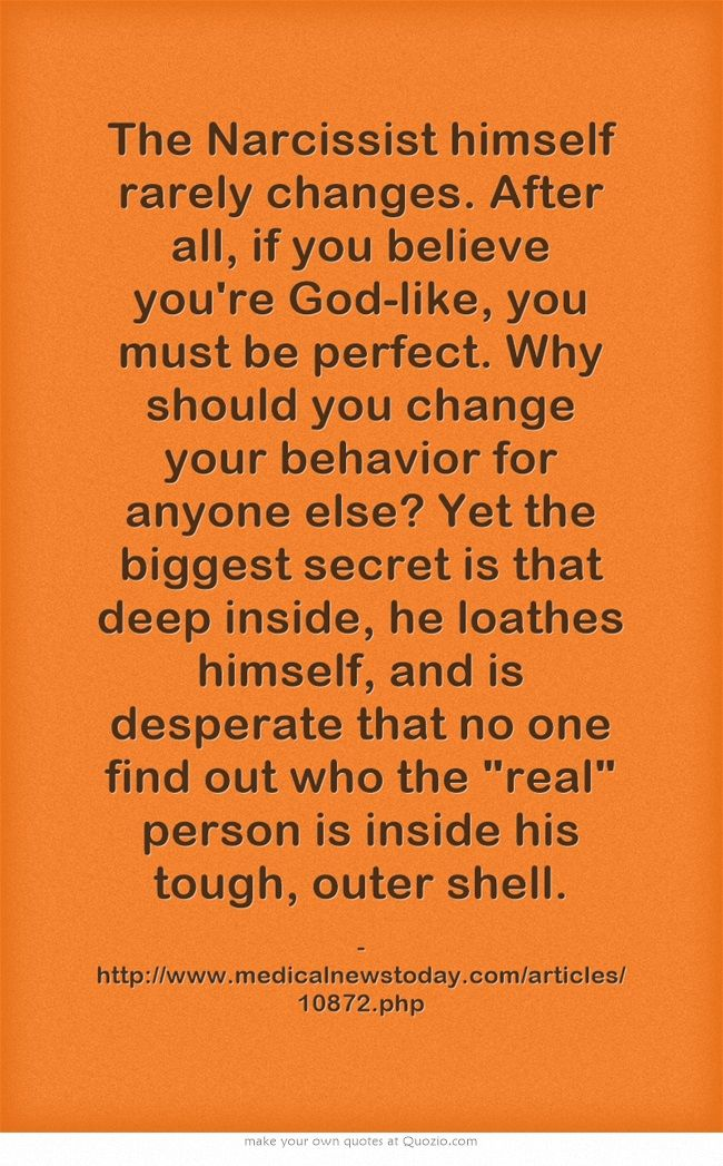 how to know if you re a narcissist