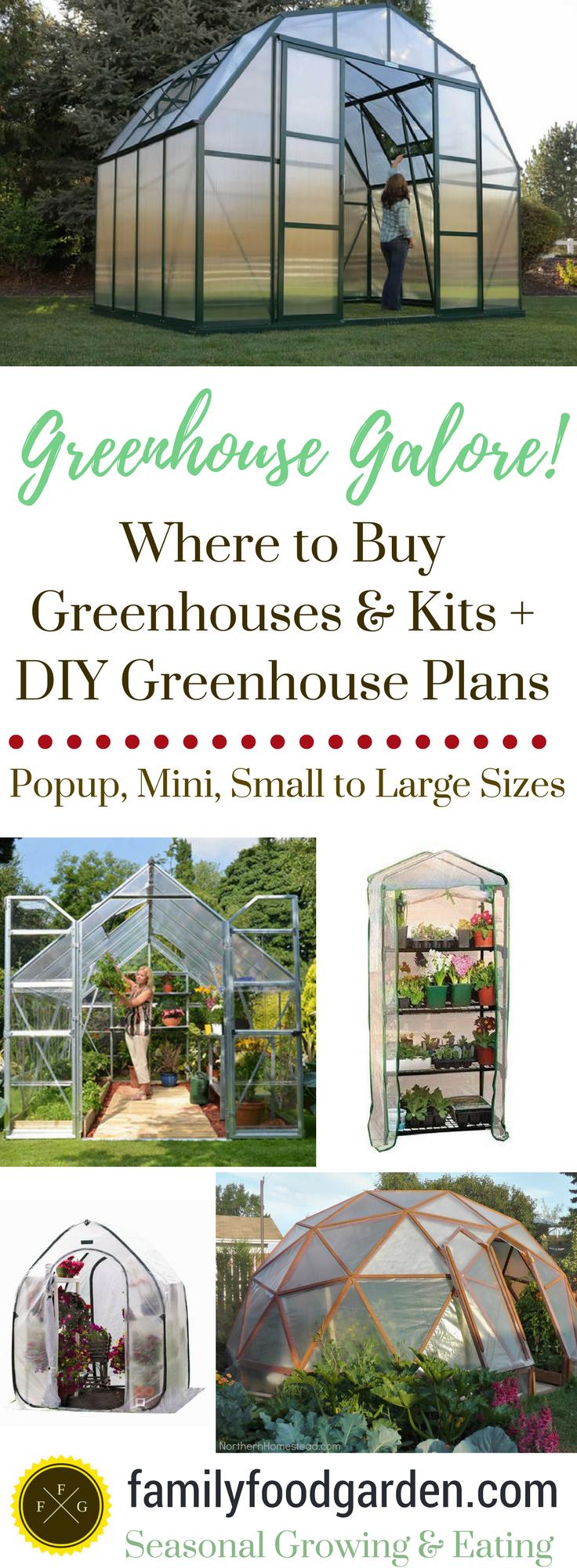 Greenhouse Kits: Mini, Small, DIY Greenhouses   Small greenhouse ...
