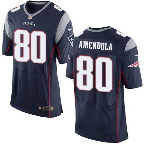 Danny Amendola Navy Blue Men's Stitched NFL Elite Jersey | Nfl new ...