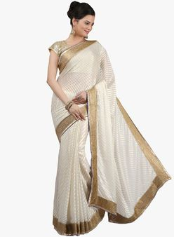 c52c35262d White Sarees for Women - Buy White Women Sarees Online in India ...