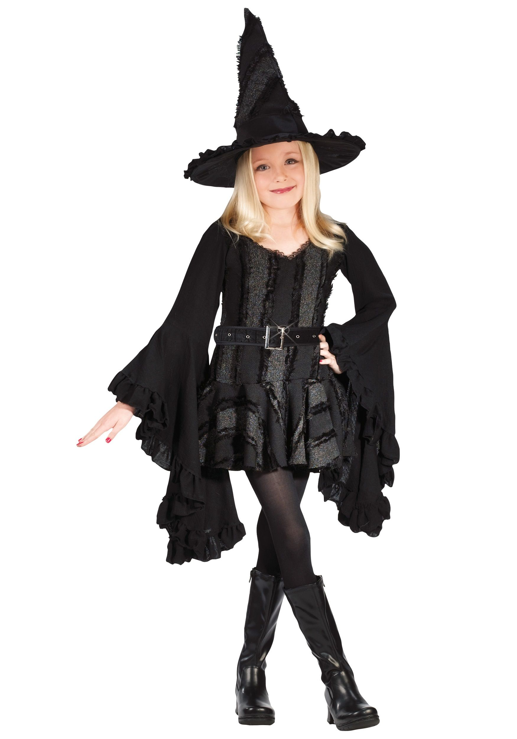 Halloween witches costumes kids girls halloween costumes for Cool halloween costumes for kids girls