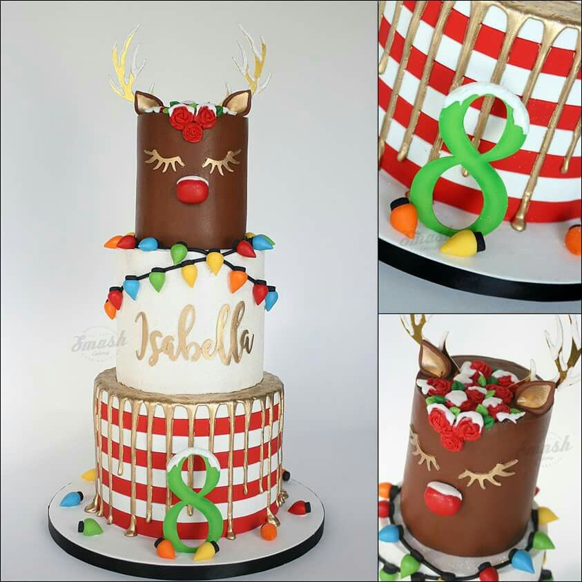 christmas foods christmas baking cakes to make unicorn cakes holiday cakes eat cake cake designs funny food wedding cake