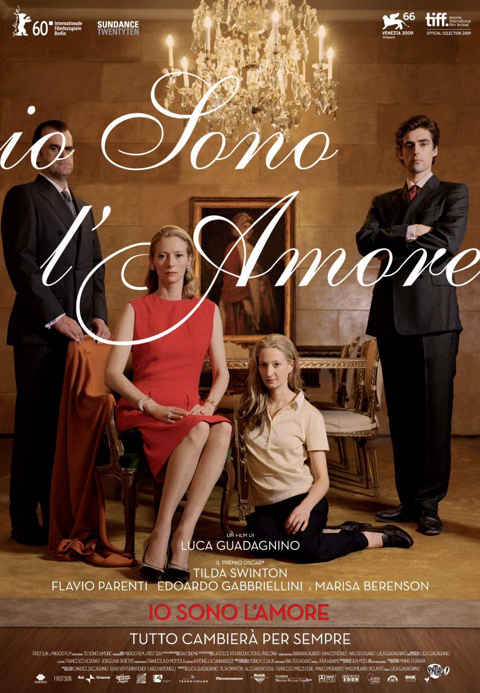 Io Sono L Amore I Am Love Um Sonho De Amor Best Movie Posters Love Film Movie Posters