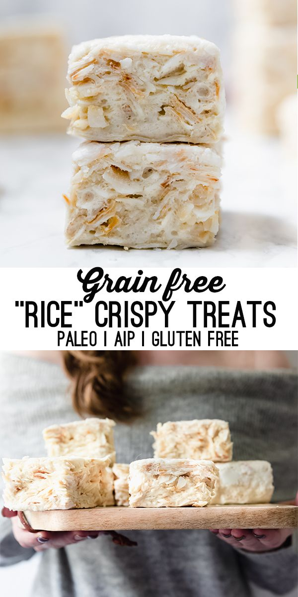 Grain Free Rice Crispy Treats | Paleo & AIP - Unbound Wellness