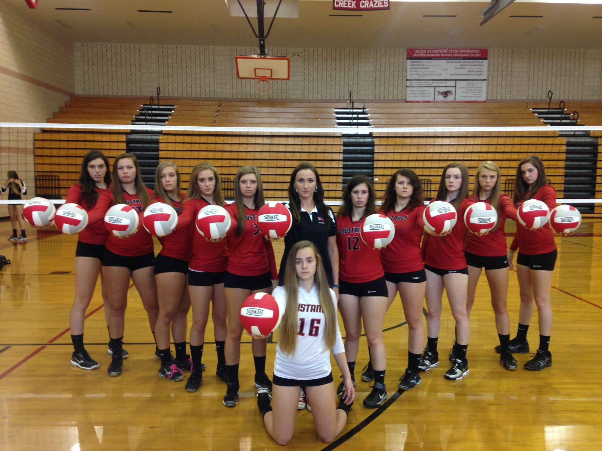 Red Mustang Volleyball Team Red Mustang Volleyball Team Volleyball