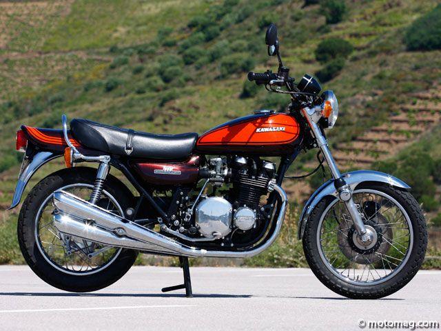 Kawasaki Zephyr Heritage Moto Neo Retro 738cc 4h10 Motos Anciennes Voitures Retro Moto Classique
