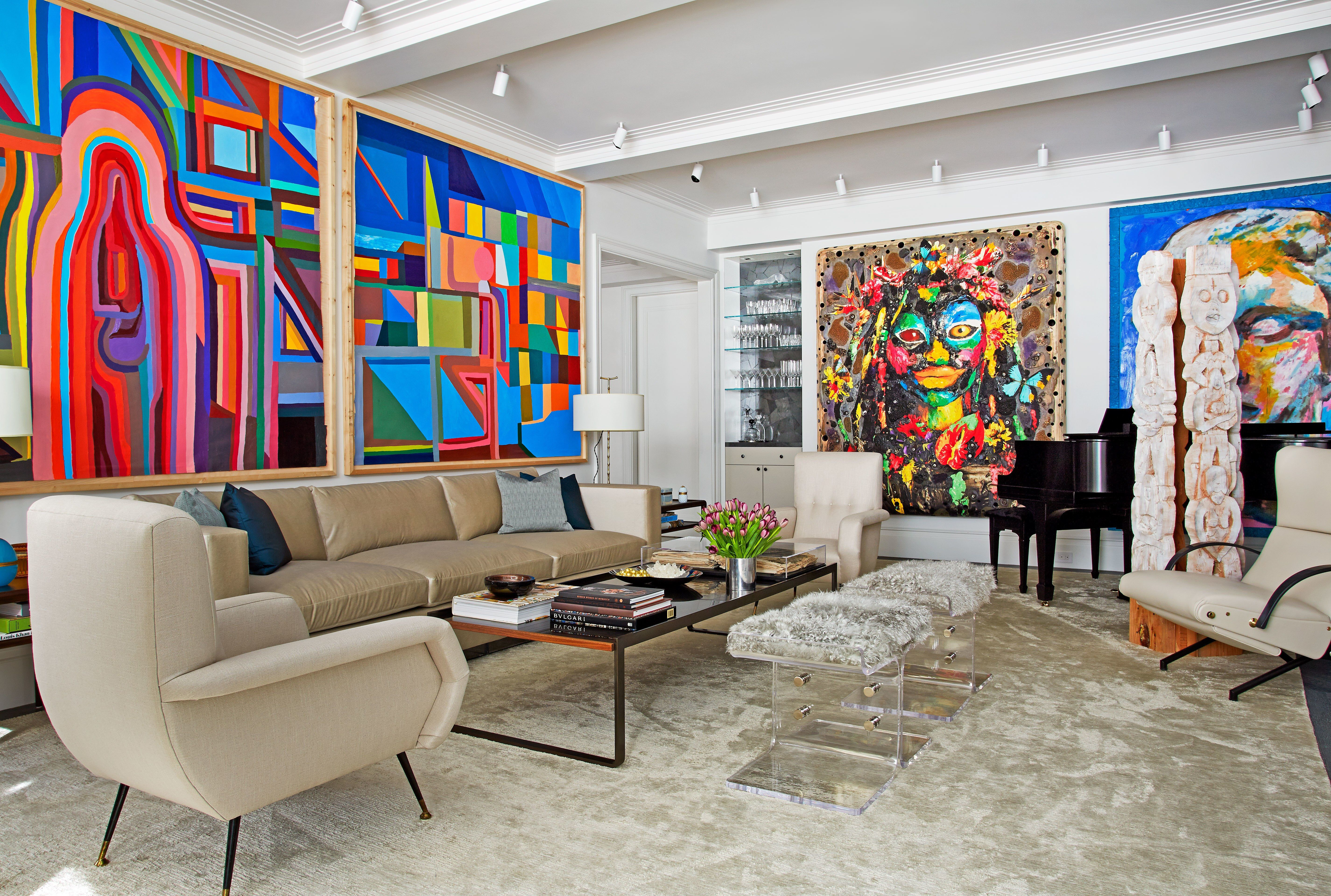 David Mann Designs A New York City Apartment With Images Nyc