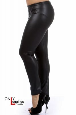 a2b02905f24 Matte Faux Leather Leggings - Plus Size   28 - Regular Size   24