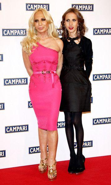 Donatella And Her Daughter Donatella Versace Fashion Dresses