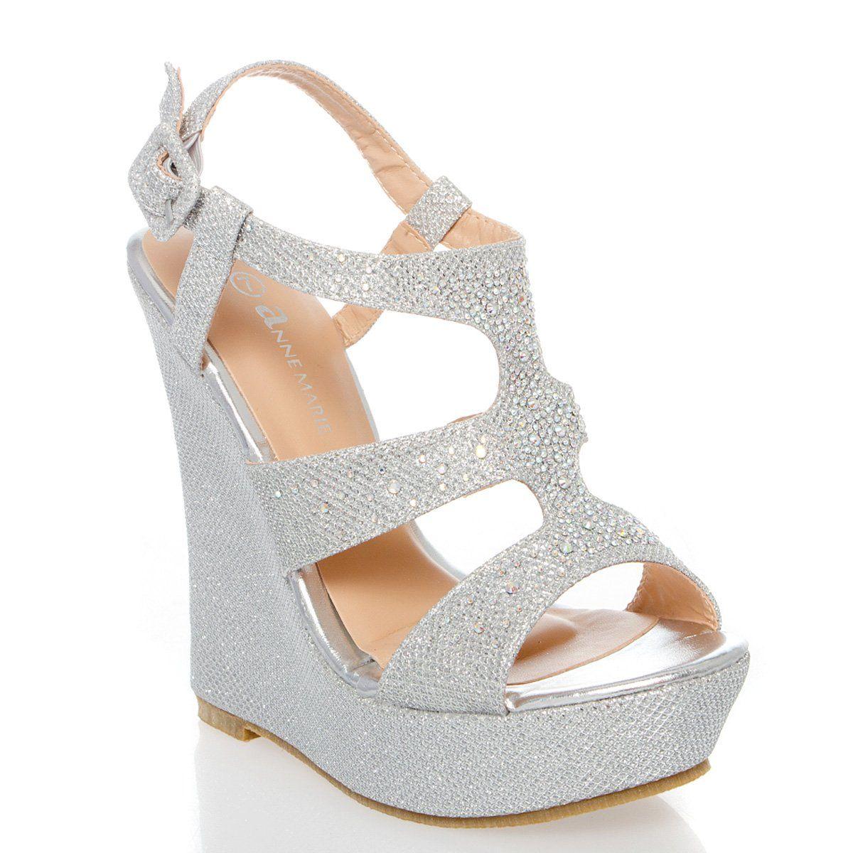 5033586d8cc65 Amazon.com: V-Luxury Womens 40-KENDRA1 Open Toe High Heel Wedge ...