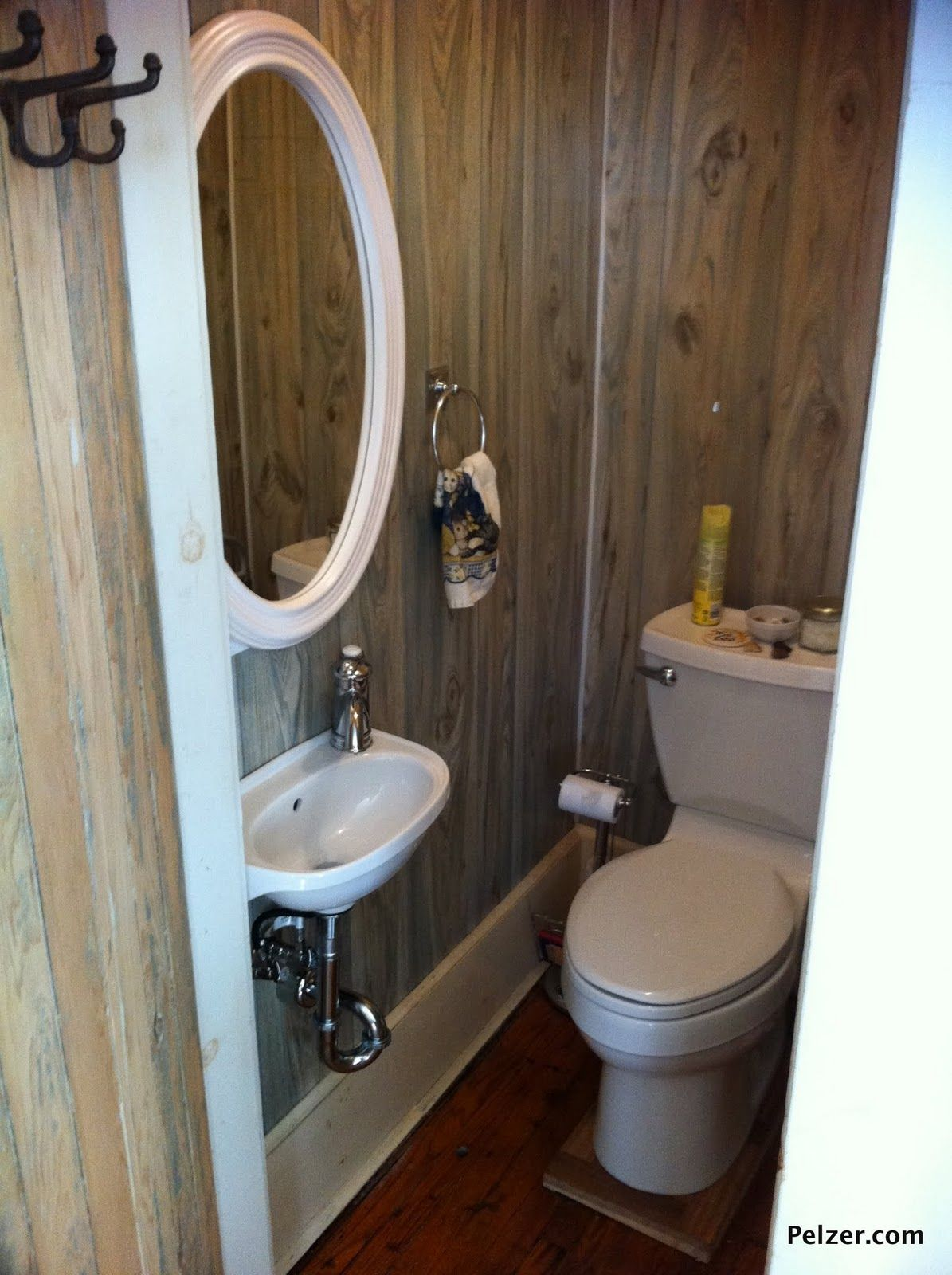 Closet Turned Bathroom Google Search Tiny Half Bath Closet