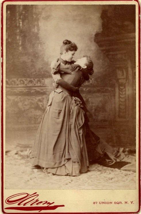 a pair of ladies acting c1870s