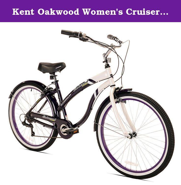 Kent Oakwood Women S Cruiser Bike 26 Inch The Kent Oakwood Aluminum Cruiser Is The Ultimate Beach Cruiser With Li Cruiser Bike Bicycle Cool Bike Accessories
