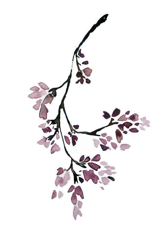 jacaranda modern minimalist botanical tree asian. Black Bedroom Furniture Sets. Home Design Ideas