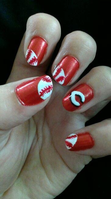 Cincinnati Reds Nails